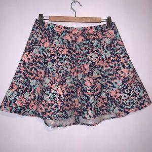 Club Monaco colourful skirt size 8
